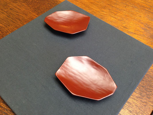八角まめ皿|鎌倉漆工房いいざさ