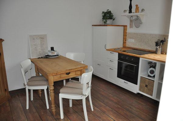 Essplatz in der offenen Wohnküche