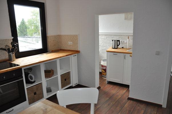 offene Wohnküche vollausgestattet
