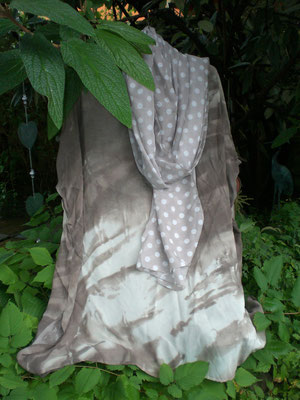Tunika mit Schal