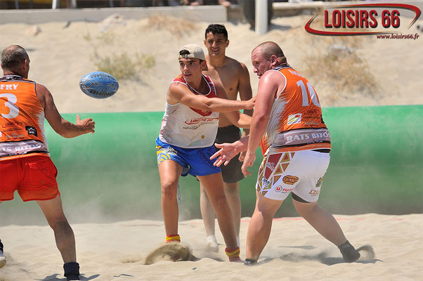 Beach Rugby League Canet 2018 LOISIRS 66
