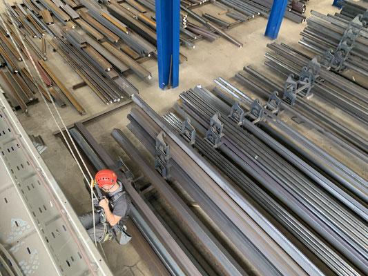 Höhenarbeiter - Handwerker im Seil - proseil GmbH