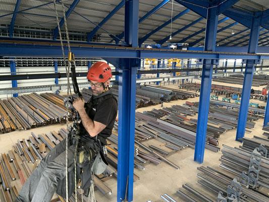 Industriekletterer Mannheim - proseil GmbH
