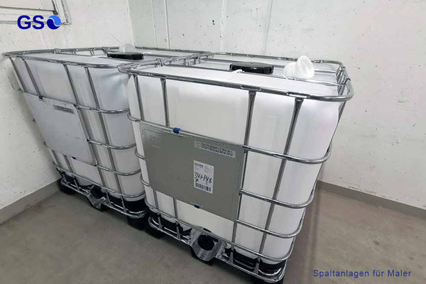 GS 1000L Schlammcontainer