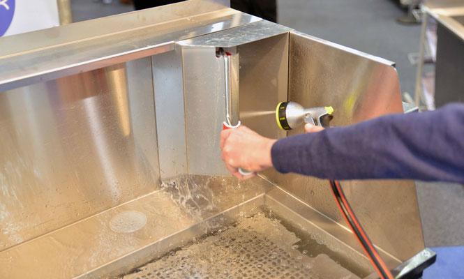 GS-Modul Waschplatz