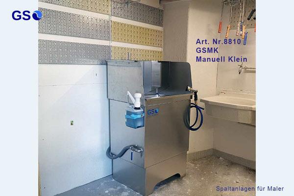 GSMK GS Spaltanlagen Manuell Klein