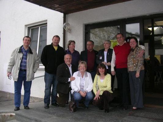 Wie bereits vor drei Jahren waren auch diesmal wieder die Freunde von der Leukämie Selbsthilfegruppe Coburg aus Oberfranken angereist.