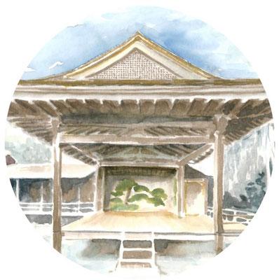 朝ドラ「おかえりモネ」ロケ地登米市にある「みやぎの明治村」登米能の森舞台