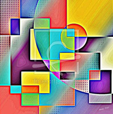 Bild auf Acryl, 60x60 cm, Preis CHF 480.-
