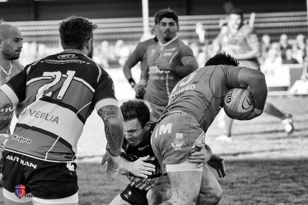 Photo Match de Rugby à  La Seyne sur mer équipe fédéral 1
