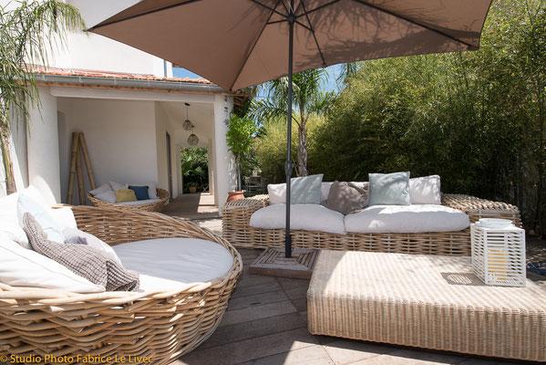 Photo immobilière d'une villa a Saint Cyr sur mer.
