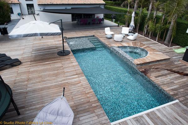 Photo immobilière par Vue aérienne d'une Villa à Six Fours