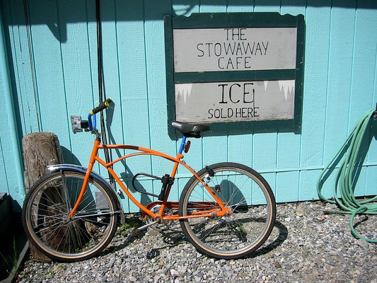 "Skagway Stowaway Cafe Alaska, ""keep the cool"""