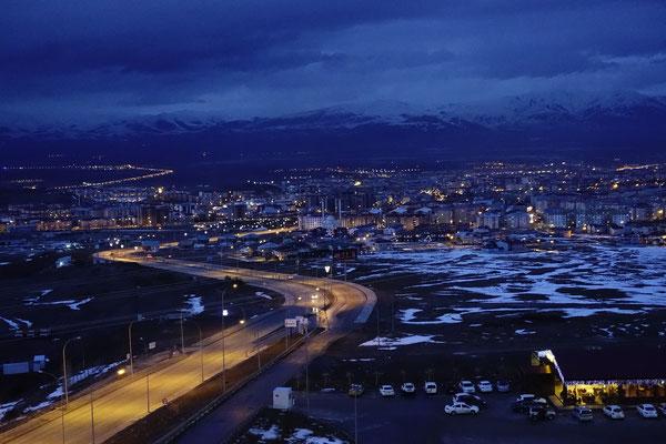 Erzurum am Abend
