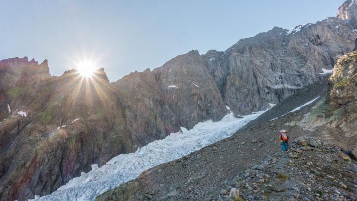 Endlich Gletscher!