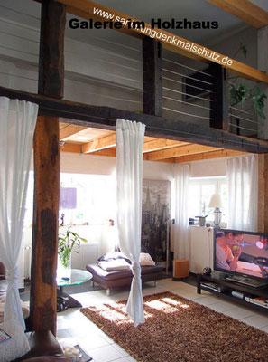 Holzhaus mit Galerie