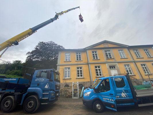 Sanierung eines Herrenhauses