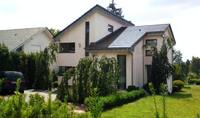 Einfamilienhaus frei geplant