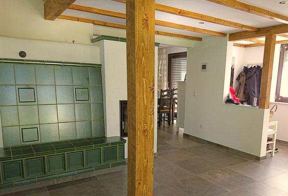 altes Haus saniert mit Holzdecken