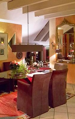 modern wohnen in einem Holzhaus, von uns geplant