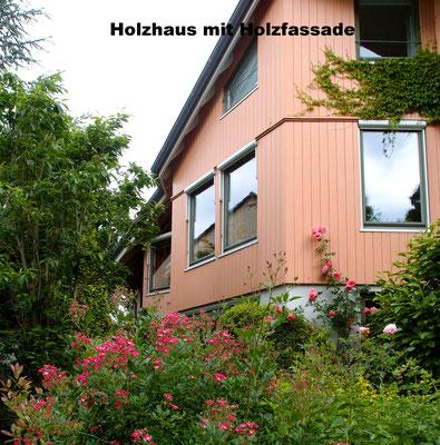 Holzhaus planen mit Holzfassade
