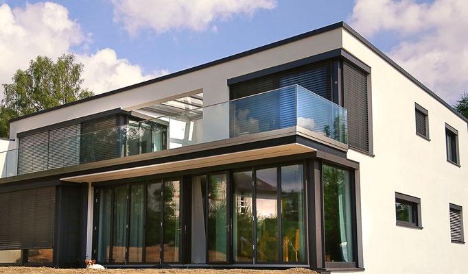 Einfamilienhaus modern planen