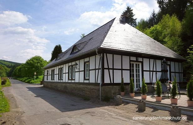 saniertes Fachwerkhaus in Lüdenscheid
