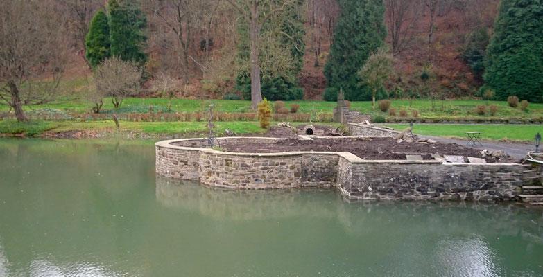 Sanierung einer barocken Teichanlage