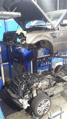 Karosserie anheben kopp-autoservice