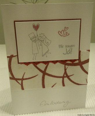 Hochzeitskarten Mit Liebe Verschenkt Hochzeitspapeterie Und