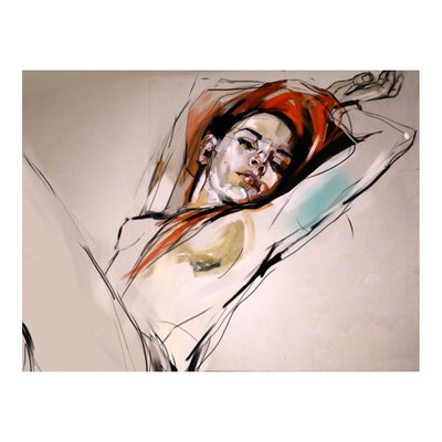 RED HAIR, NUDE SERIES, sketch