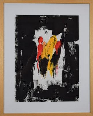Good Life 40 x 50 Acryldruck auf Papier gerahmt