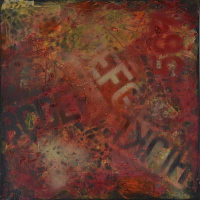 Graffiti III 50 x 50 Acryl/Spray