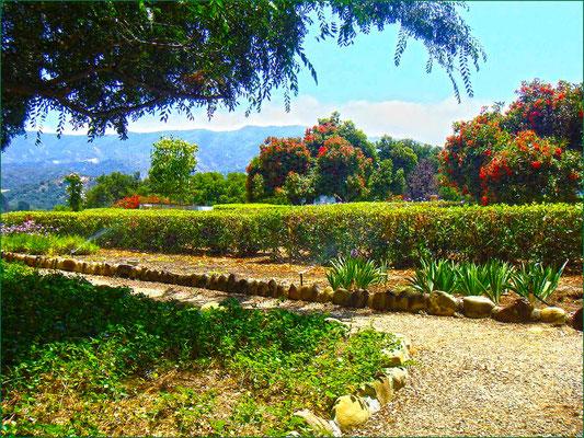 Jardín del Instituto Krotona de Teosofia, Ojai