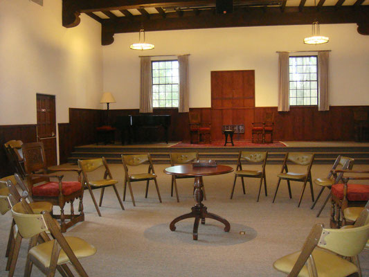 Sala de conferencia del Instituto Krotona de Teosofia, Ojai