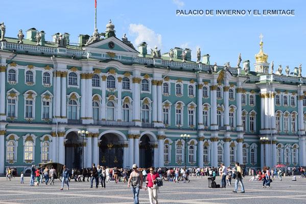 Museo  El Ermitage y el Palacio de Invierno