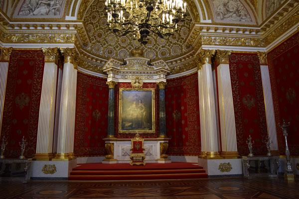 Salón pequeño del trono- Ermitage