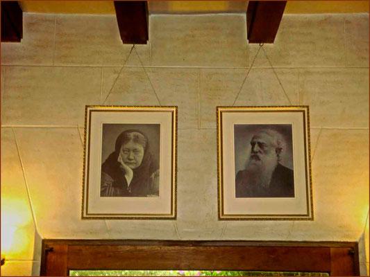H.P. Blavatsky y el Coronel Olcott