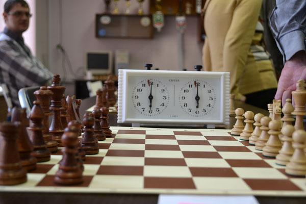 Макроснимок шахмат