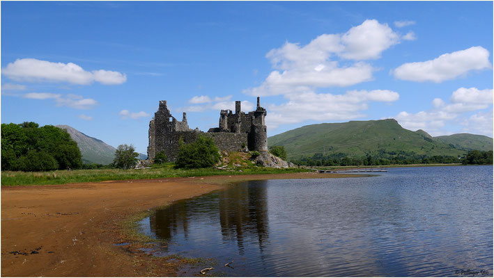 Kilchurn Castle Schottland 2016
