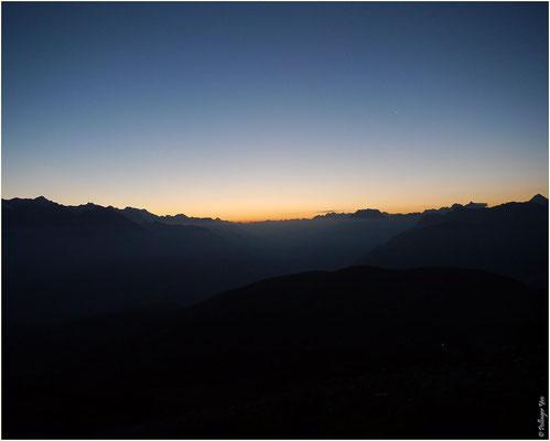Augstbordhorn Sonnenaufgang