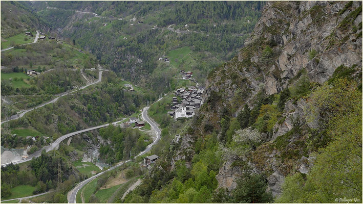 Höhenweg Zeneggen Stalden 30.04.2016