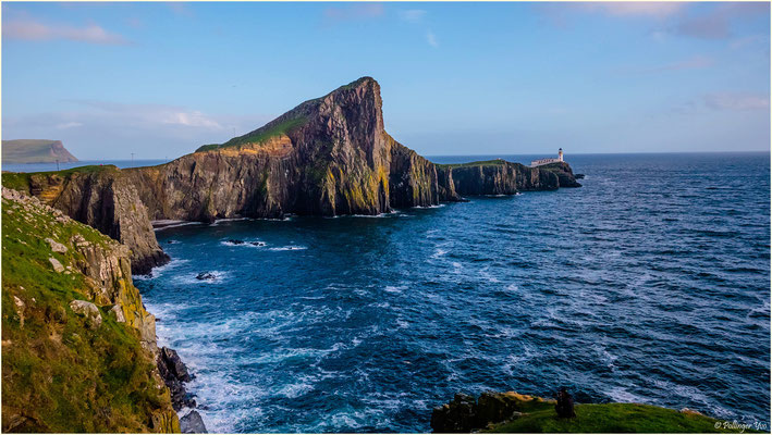 Leuchtturm von Neist point,Insle Of Skye Schottland