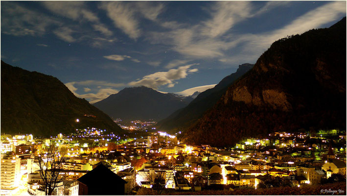Visp by night 27.10.2015