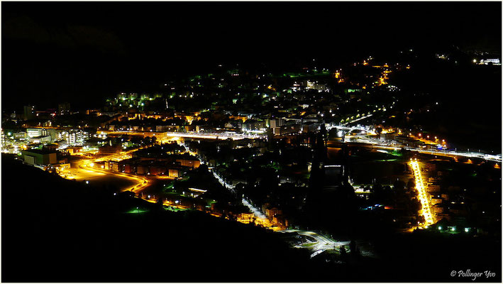 Visp by night 14.09.2015