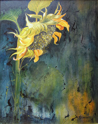 """""""Sonnenblume"""", Öl"""