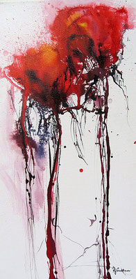 """Mohnblumen"", Airbrush"
