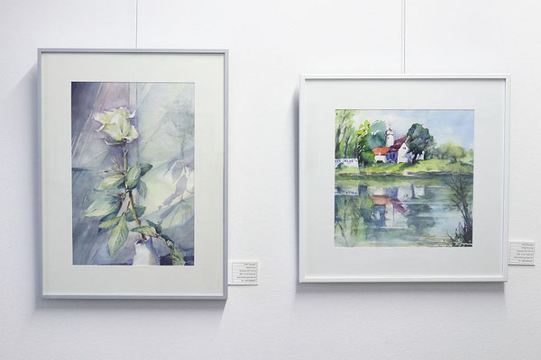 """Heidi Eppinger: """"Weiße Rose"""" und """"Hofgut Eching"""""""