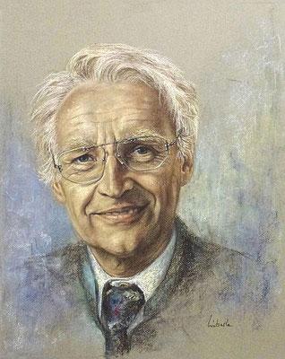 """""""Dr. Edmund Stoiber"""", Pastellkreide"""