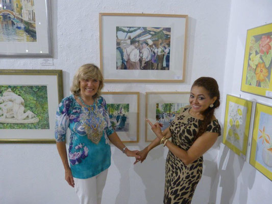 Elisabeth Sorger und Vilma Sousa-Dimpfl